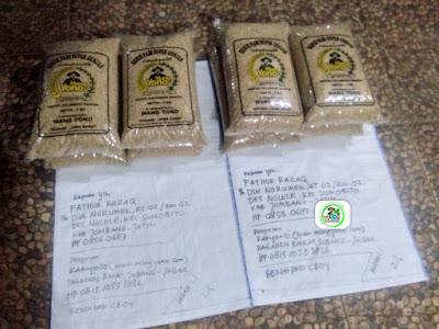 Benih Padi Pesanan   FATHUR RAZAQ Jombang, Jatim.    (Sebelum di Packing).