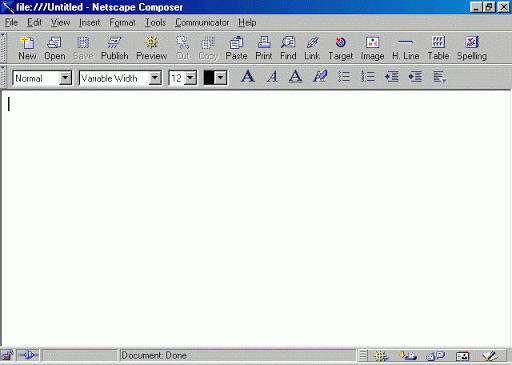 Netscape Editor