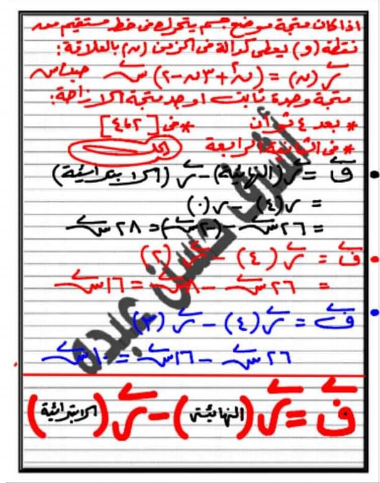 مراجعة تطبيقات الرياضيات ٢ ثانوي علمى أ/ أشرف حسن عبده 7