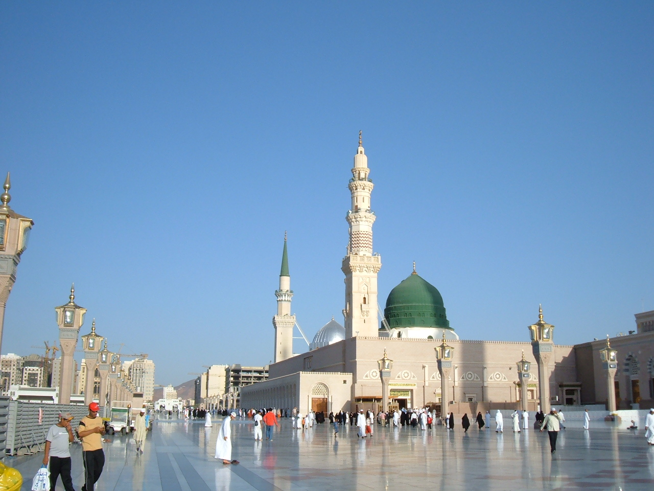 Curious Wallpapers Masjid Nabawi Wallpapers