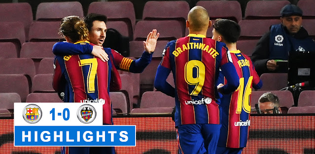 Barcelona vs Levante – Highlights