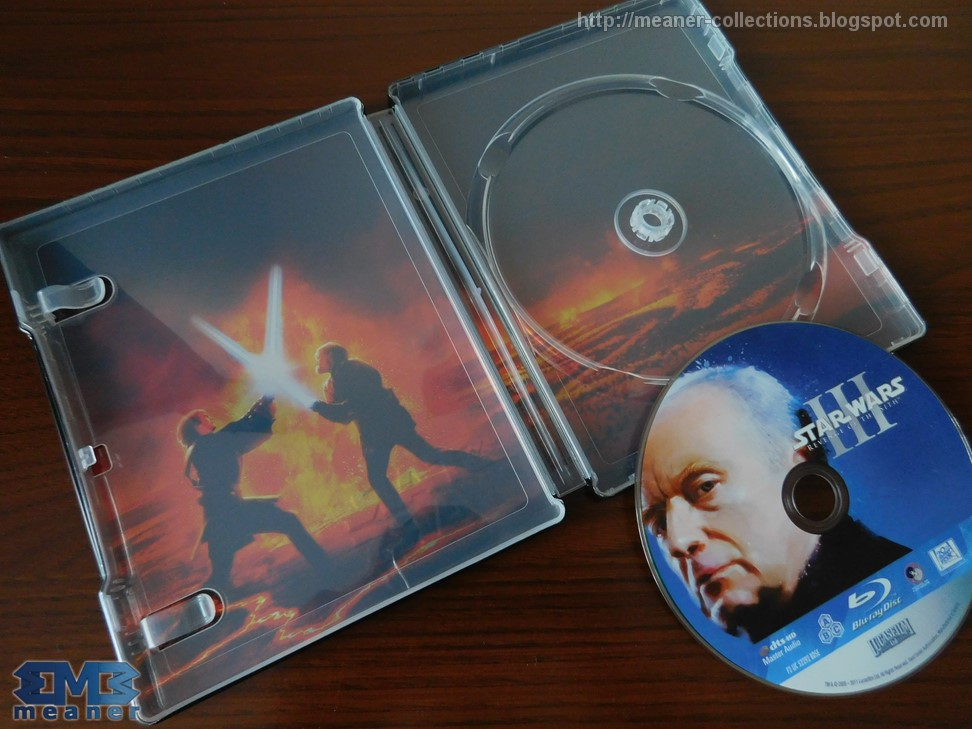 Star Wars Episode Iii Revenge Of The Sith Blu Ray Steelbook Pl Meaner Collections