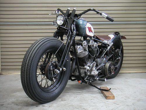 Harley Davidson Shovelhead 1970 By Sure Shot Hell Kustom