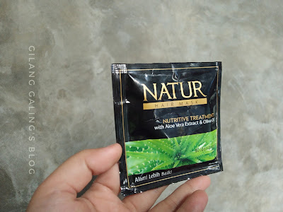 Natur Nutritive Hair Mask Treatment Olive Oil dan Aloe Vera