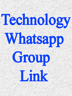 Technology Whatsapp Group Link