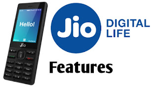Jio Phone ke features