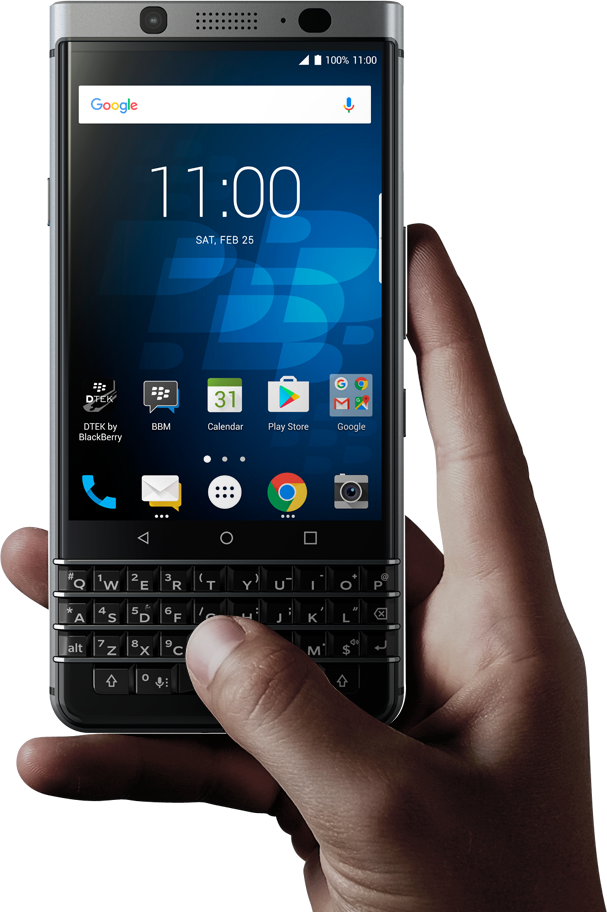 Oops!] BlackBerry KeyOne (Mercury) Accidently Shows Up On