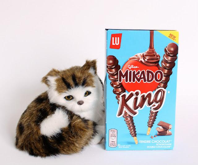 Mikado King chocolate con leche