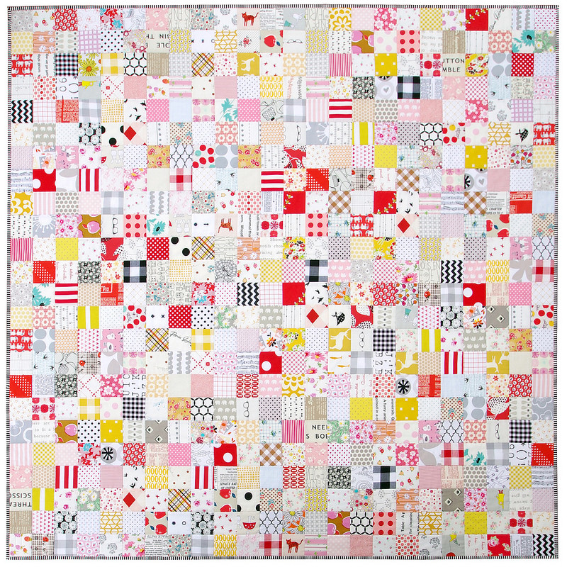 The Fall Quilt - A Finished Quilt | Red Pepper Quilts 2015