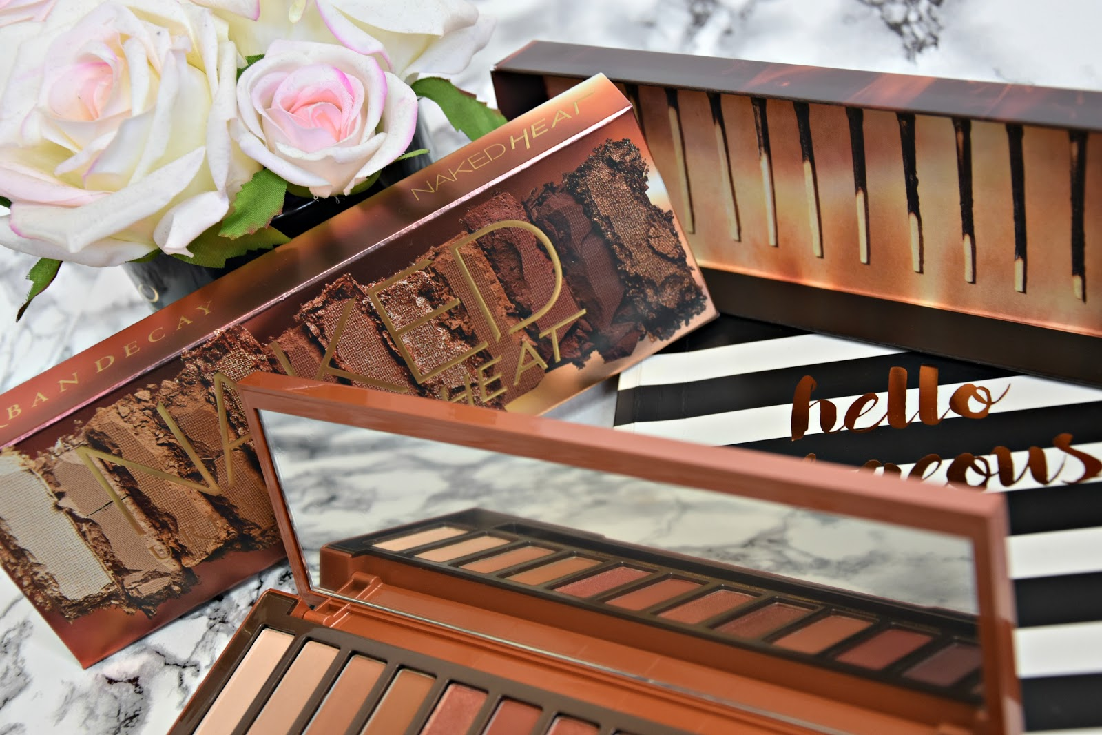 Urban Decay Naked Heat Eyeshadow Palette Review