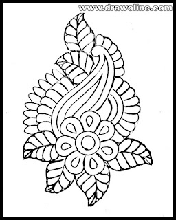 tracing paper drawing design/embroidery designs on tracing paper/free tracing designs aari work