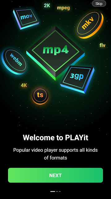 PLAYit - A New across the board Video Player App
