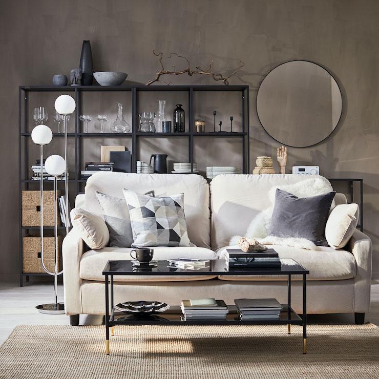 Salones nuevo catálogo IKEA 2021.