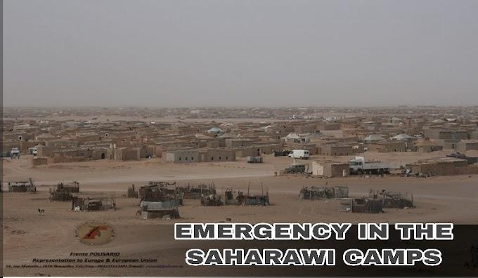 منظمات وطنية ودولية تشدد على أهمية رفع مستوى العمل والتنسيق لتوفير الحاجيات الأساسية للاجئين الصحراويين في مواجهة أثار جائحة كورونا.