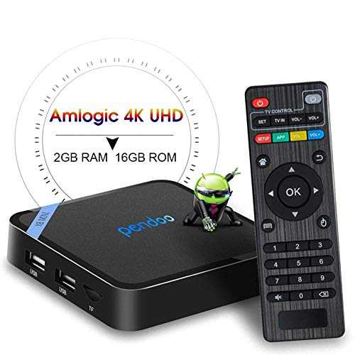 H.265 4K Ultra HD TV Box Media Player by ZMQC 16GB ROM)Smart TV Box S905W Quad-core Cortex-A53 with WiFi 2.4GHz 2019 NEW Android TV Box TX3 Mini Android 8.1( 2RAM