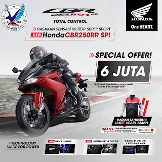 Promo sepeda motor Honda CBR250RR Banyuwangi termurah