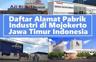daftar perusahaan di Mojokerto