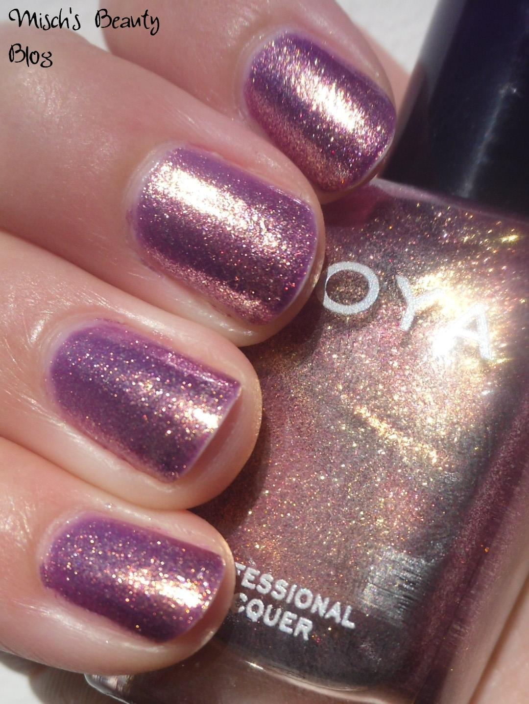 Misch S Beauty Blog Notd September 29th Fall Leaf Nail Art: Misch's Beauty Blog: NOTD September 10th: Zoya