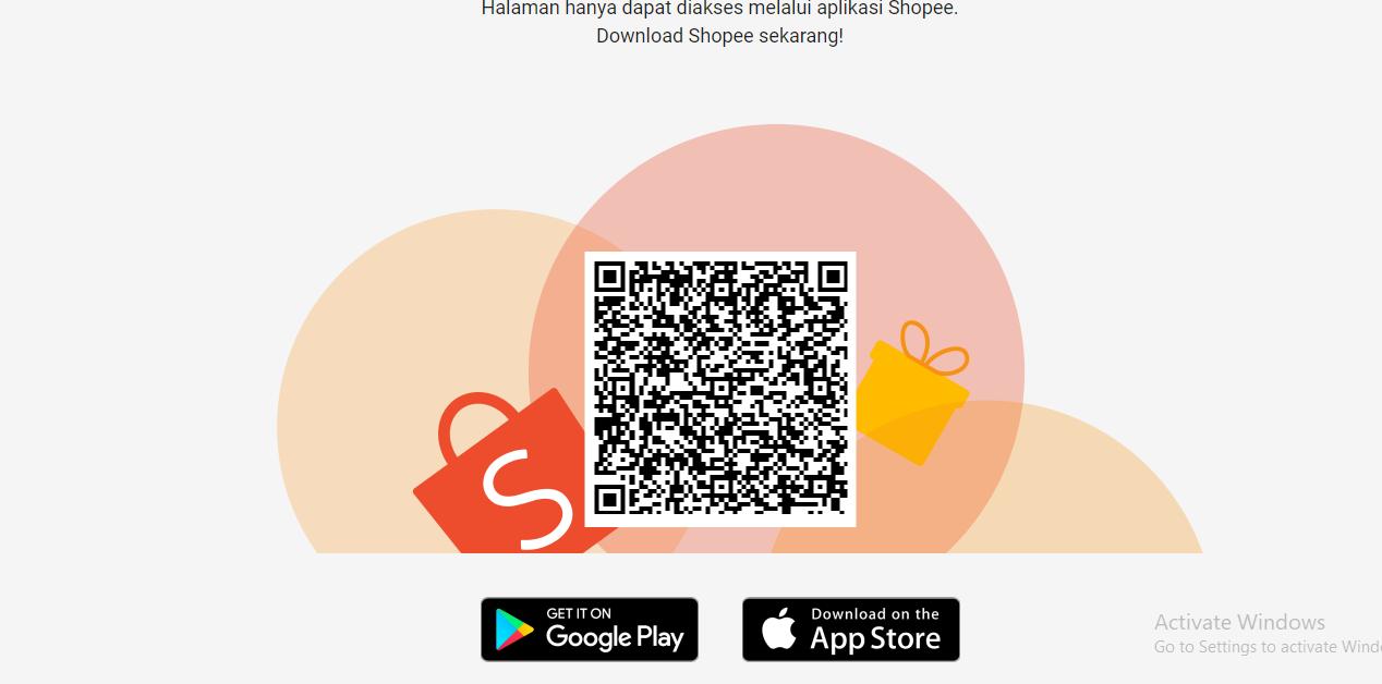 Halaman hanya dapat diakses melalui aplikasi Shopee. Download Shopee sekarang!