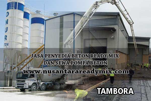 harga beton jayamix Tambora