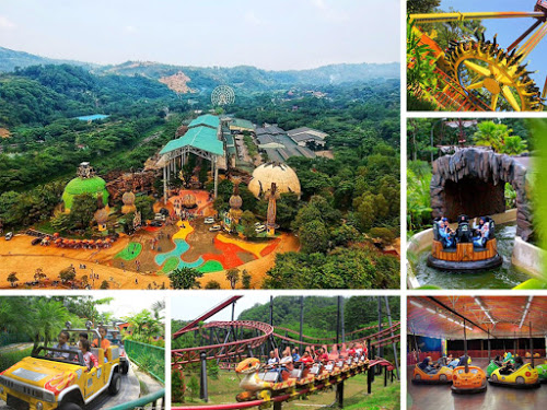 10. JungleLand Adventure Theme Park