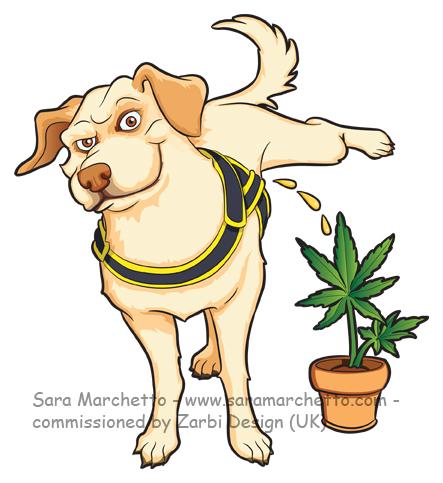 Labrador-character-dog