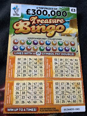 £3 Treasure Bingo