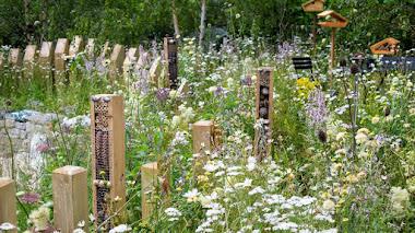 Accesorios para favorecer la vida silvestre en el jardín