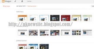 template blogger default