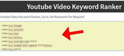 riset keyword video youtube agar muncul