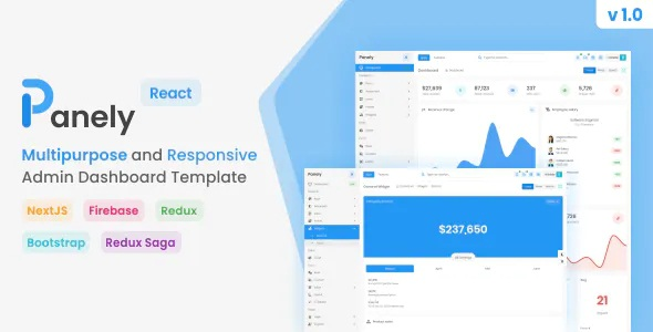 Best React Multipurpose Admin Dashboard Template