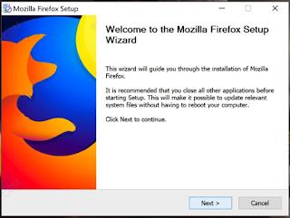Cara Download dan Install Mozilla Firefox Quantum