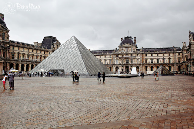 Der Louvre in Paris