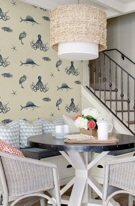 Coastal Nautical Wallpaper