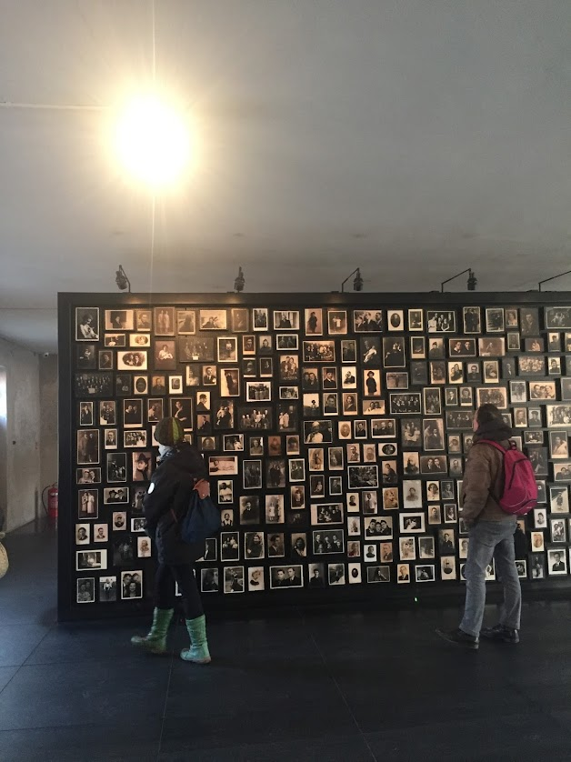 Image exhibition at Auschwitz