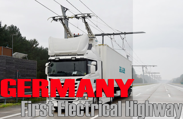 Germany latest Technology E Highway 2019