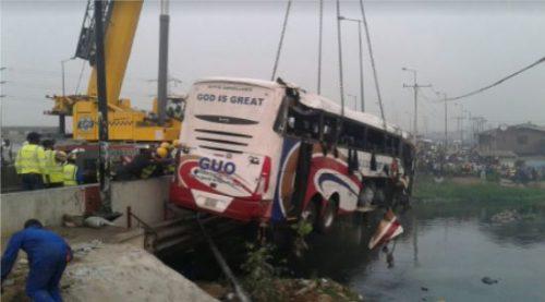 Owode crash: GUO comforts passengers, lauds FRSC, LASEMA