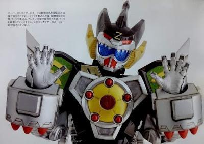 Kikai Sentai Zenkaiger - Close Look At The Zenkaizyu Gear
