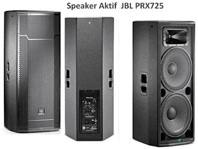 Harga dan Spesifikasi Speaker JBL PRX725 15 Inch