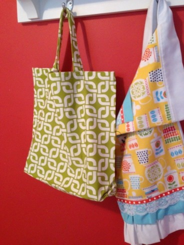 Market Bag Easy DIY Tutorial & Pattern