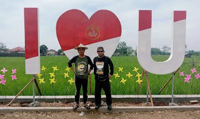 FOTO : Taman sfot Selfie O&i Farm Subang