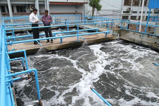 Effluent treatment plant also process flow chart of etp textile learner rh textilelearnerspot