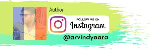 Arvind Singh Harit, Instagram Profile