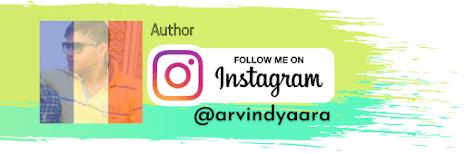 Arvind Harit, Follow me on Instagram