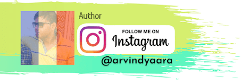 Arvind Harit, Instagram Profile