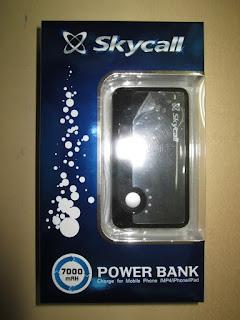 Powerbank Skycall 7000mAh dual output