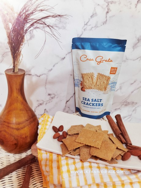 Casa Grata Natural Ingredients Crackers