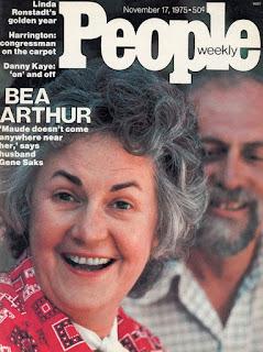 Bea Arthur Magazine Cover