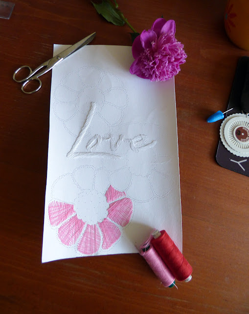 String Art - Tablou - Love
