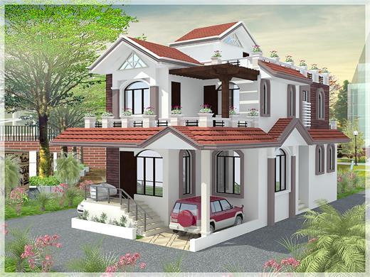 Balewadi Pune Duplex House Design AG - 440